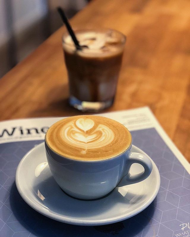 [Nylon Coffee] •• What's special about this coffee house, is that you get to stand up, have some small talk, drink your cup of good coffee, and just enjoy the moment.