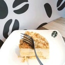 @starbuckssg Cheesy Cheese Sponge Cake is really spongyA must try for cheese lovers or even for those who don't fancy cheese that much as the cheese taste is not very strong.