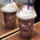 Counting down to Christmas with @coffeebeansg Ice Blended Peppermint Chocolate .