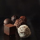 Gorgeous Truffles from @awfullychocolatesg starting off my long weekend on a sweet note.