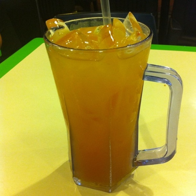 fresh lemon tea