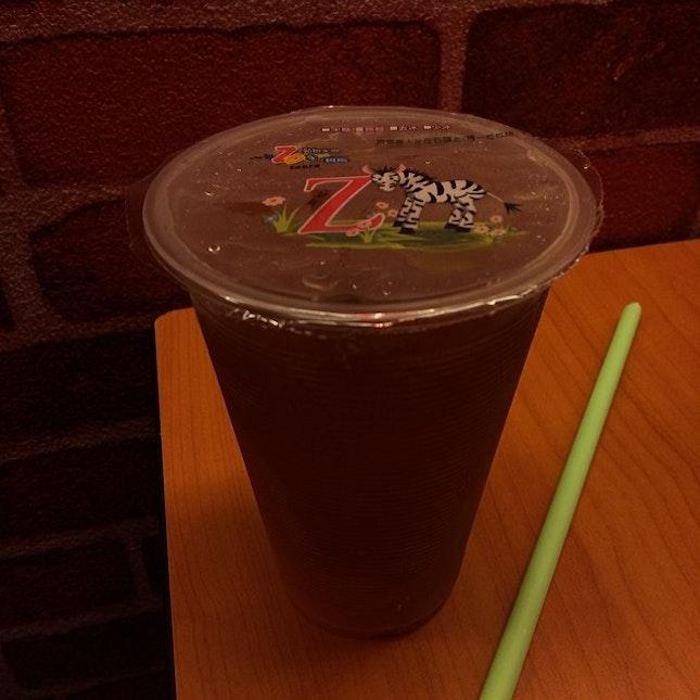 and a refreshing wintermelon tea