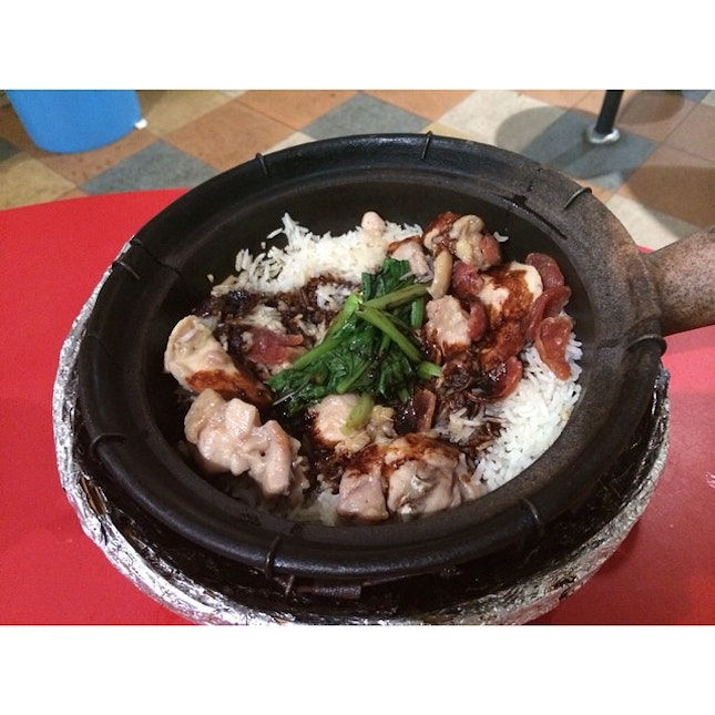 Fourth day Part 2: Famous Claypot Rice from Yuan Yuan Claypot Rice!