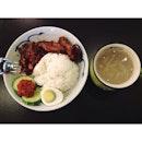 Penang Nasi Lemak as an alternative to a non-soupy food item.