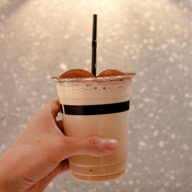 Iced Cappuccino  The coffee is made using Blend 1, a range of single-origin coffee beans of Brazilian, Ethiopian, El Salvador and Indonesian origins, that was both mildly acidic and smooth on the palate!