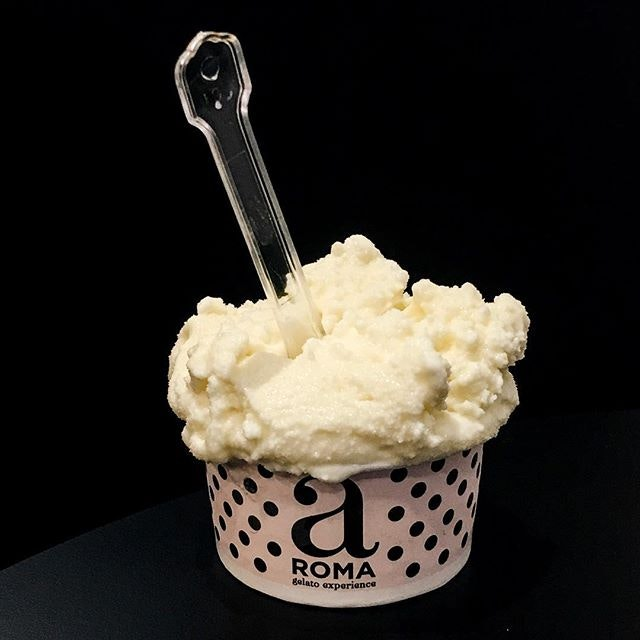 Profumo di Capri  This ice cream consist of a lemon sorbet that had a tangy and sharp flavour, infused with a sweet-tasting alcohol which helped in intensifying its taste!