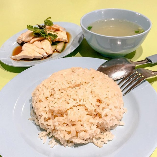 Hainanese Chicken Rice from Leong Yeow Famous Waterloo St.