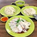 Because chicken rice can always be ordered in a set for a pair!