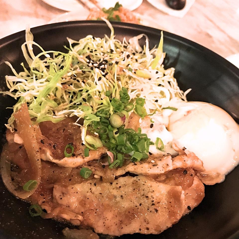 Buta Shogayaki Don