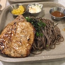 Pork Chop with Soba ($12.80)