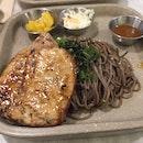 Pork Chop with Soba ($12.80)