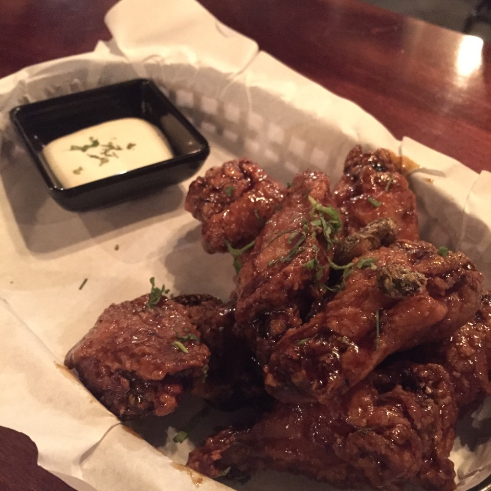Honey Tequila Wings ($16)
