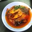 Honeydew Roasted Chicken Noodles