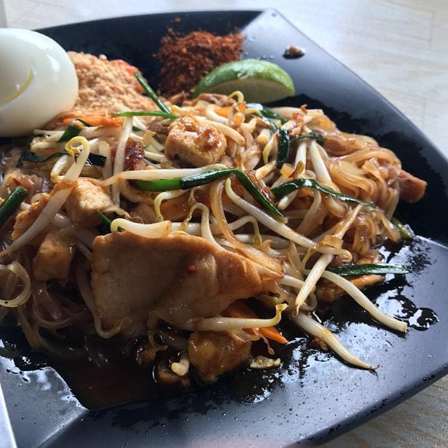 Phad Thai (Pork) ($6-student price)