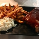 St Louis Ribs (Small) ($15.90) (Sweet Potato Fries $2.50)