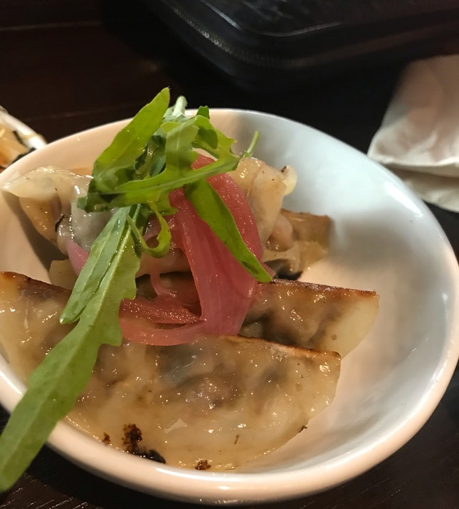 Smoked Duck Dumplings