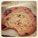 Subway chocolate chip #chocolate #chip #cookie #lunch #food #foodporn #sgig