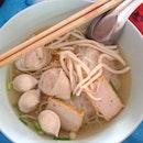 Fishball Noodles. Hua Hin