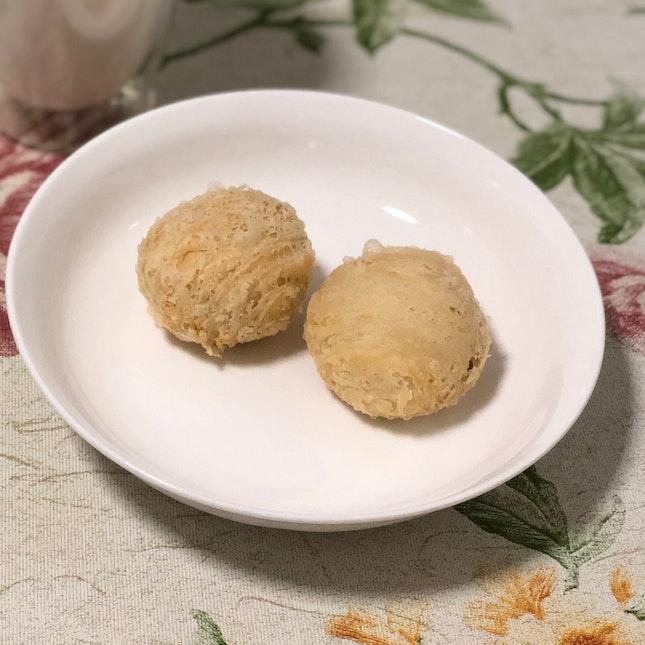 Mini Crispy Skin Pure Yam Mooncake