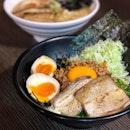 Nagoya Mazesoba dry ramen