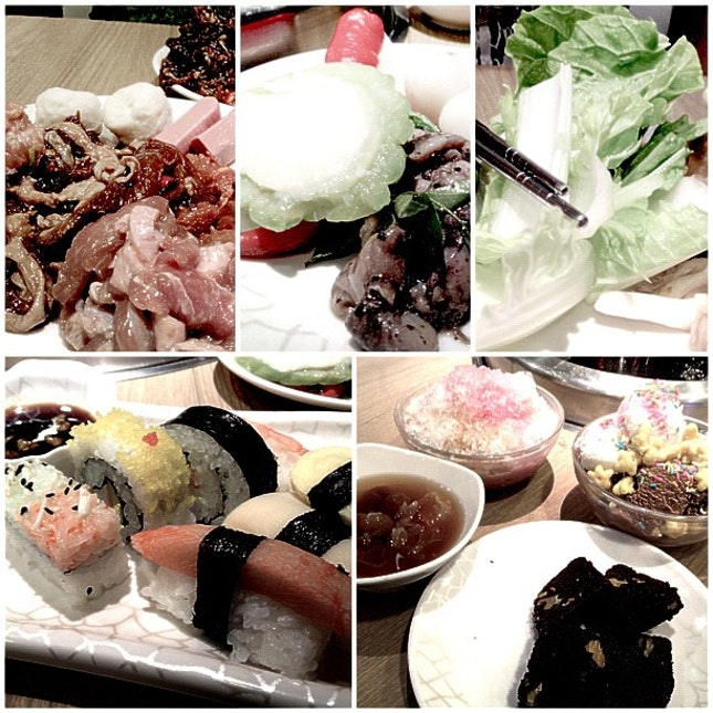 Lunch with Baby Bunny Boo; yesterday ❤ #sg #SeoulGarden #Marina #lunch #thursday #date