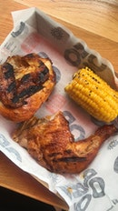 1/4 Grilled Chicken Set Meal