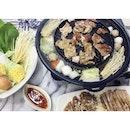 #Mookata for dinner last night 🍲  #thaifood #steamboat #BBQ #food #foodie #foodiesg #sgfoodie #foodart #foodinc #fooddiary #foodstagram #foodspotting #foodporn #foodphotography #sgfood #sgfoodporn #sgfooddiary #sgmakandiary #instafood #lifeisdeliciousinSingapore #Burpple #HungryGoWhere #8DaysEat #droolsnapnom #eatoutsg #eatbooksg #sgeats #thegrowingbelly #foodelia