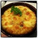 #cheese #bakedrice with #eel