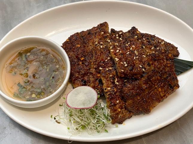 Spicy Pork Belly Slices