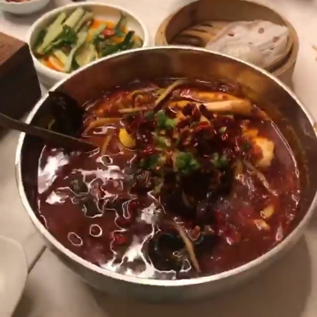 Boiled Mala Fish In Spicy Chilli Oil