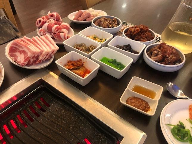 Delicious Korean BBQ Experience!