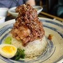 Mountain Of Beef And Rice - Awesome!