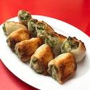 Pan-fried Pork And Seafood Dumplings 🥟