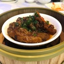 Steamed Chicken Claws With Black Bean Sauce
