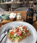 Breakfast In Botanical Garden
