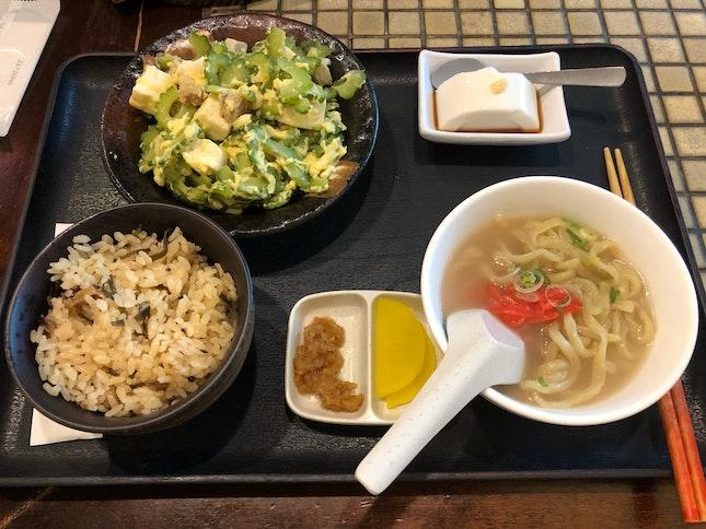 Bittergourd With Home Made Tofu
