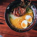 cannot imagine eating tonkotsu + salted egg ramen!