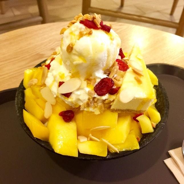 Mango Cheesecake Bingsoo