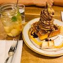 Ferrero Chocolate Ice Cream Waffle