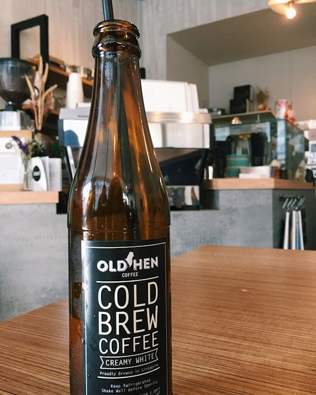 Creamy White Cold Brew Coffee ($6.50) ☕️ ⭐️ 4.5/5 ⭐️ 🍴Smooth, creamy and full of flavour - this is probably one of the best cold brews I've tasted (granted I don't drink that many cold brews).