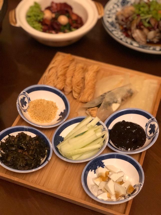 Deep Fried Dough Popiah 彭城小份 ($12/$18)