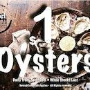 $1 dollar Live Oyster promotion.