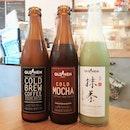 3 different tastes  #lakopi #chillax #threesome #coffee #coldbrew #matcha #mocha #sgfoodie #sgfood #sgcafe #livetoeat #eattolive #drink #coffeeporn #burpple #oldhen #coffeebar #publicholiday