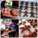 Saturday morning fun with Gingerbread Men!