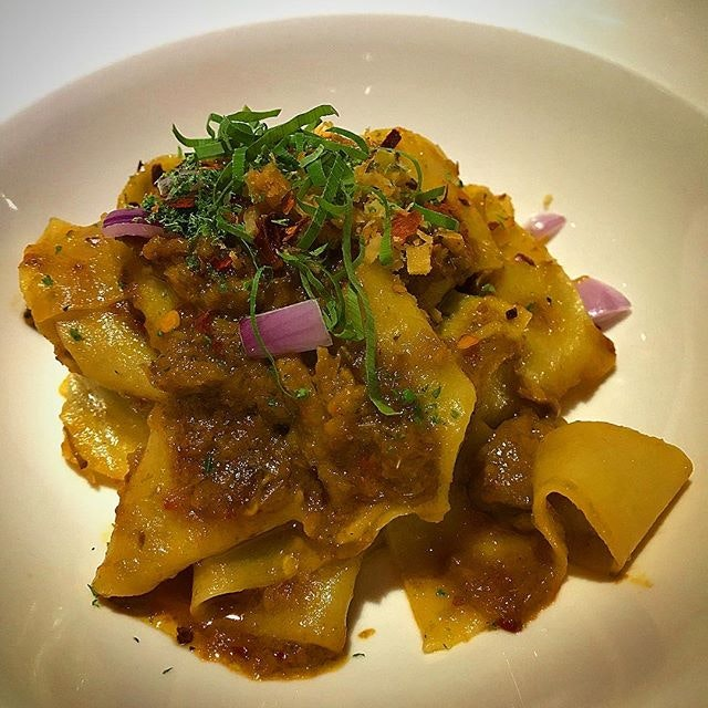 Rendang Oxtail Pappardelle.