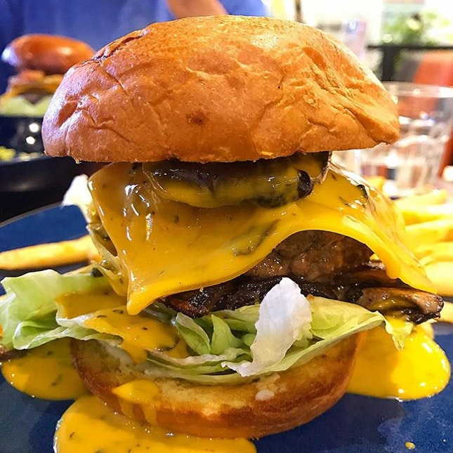One of the best burgers we had, and I don't really fancy burgers!