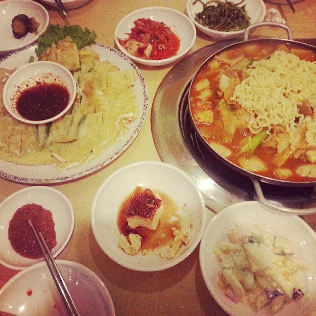 Korean 맛있는