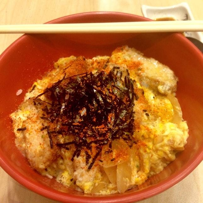 Pork Katsu Don ($6.80)