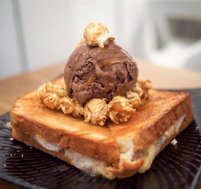 Nutella Toast ($8.80)
