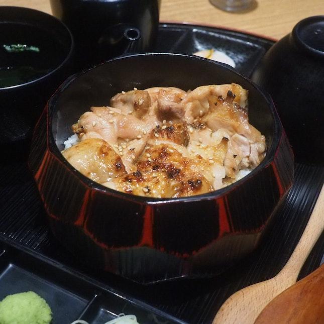 Chicken Hitsumabushi ($26.80++)